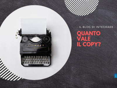 Quanto vale il copy? Blog di Integrare